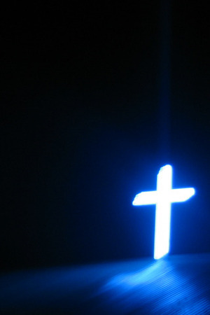 cross is the light in the darkness