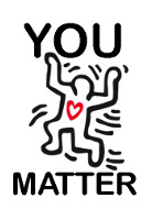 You_Matter (art by the master Keith Haring)